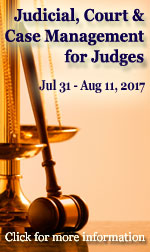 2017 Judicial Case Management for Judges