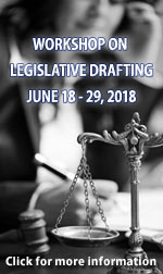 2018 Workshop Legislative Drafting